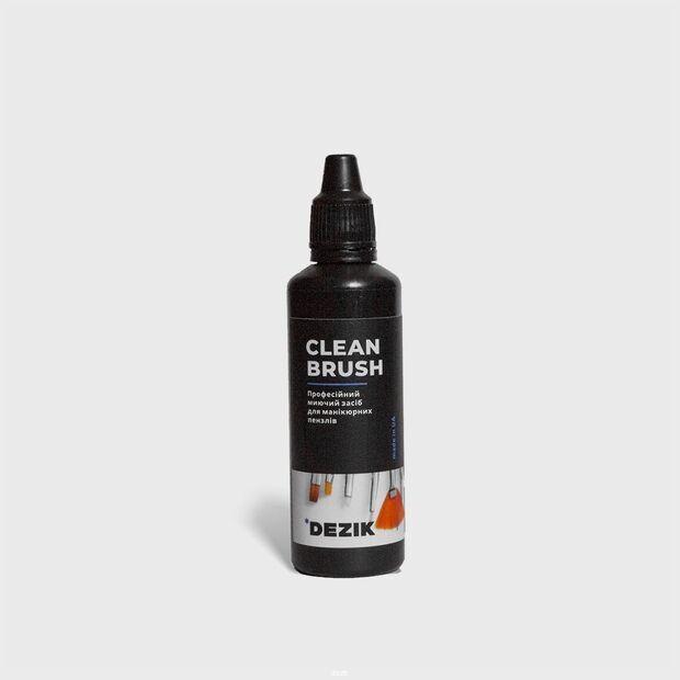 Средство для очистки маникюрных кистей Dezik Clean Brash 50 ml