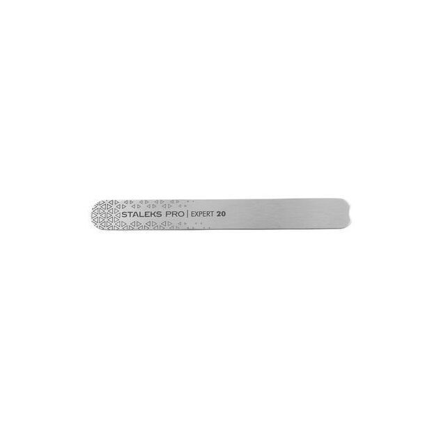 Пилка для ногтей металлическая прямая (основа) Staleks EXPERT 20 MBE-20