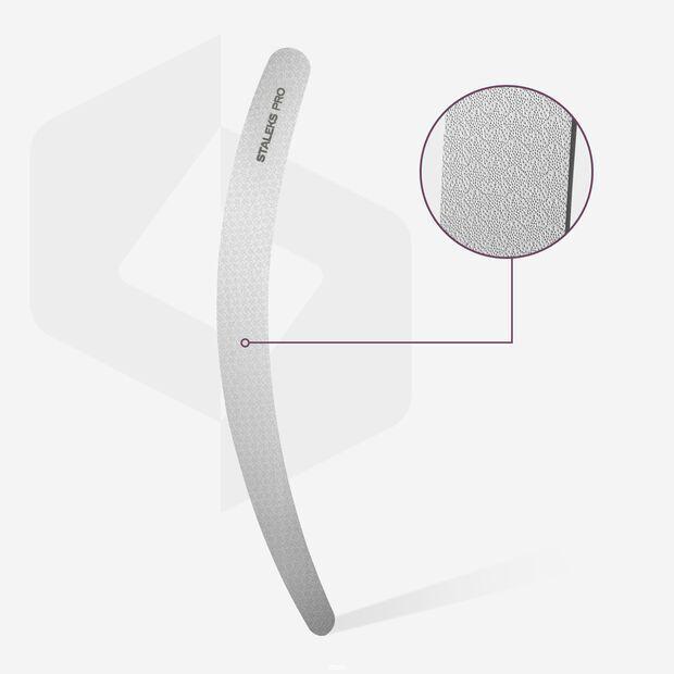 Пилочка для ногтей бумеранг лазерная STALEKS PRO EXPERT 10 FE-10-170