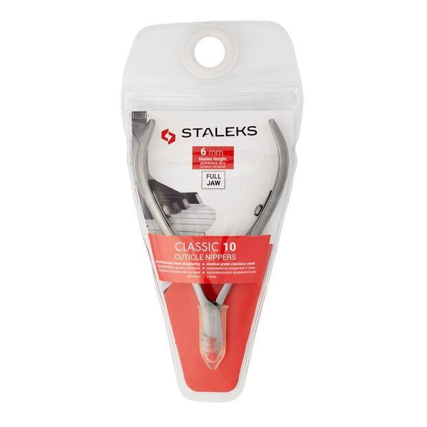 Кусачки для кутикулы Staleks CLASSIC 10, 6 мм NC-10-6